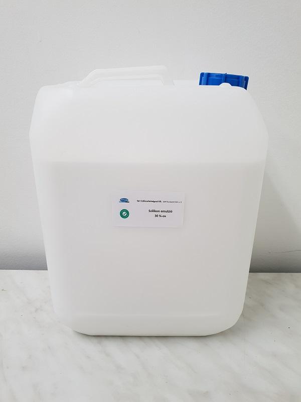 Szilikon olaj emulzió 30% 10 literes kiszerelés