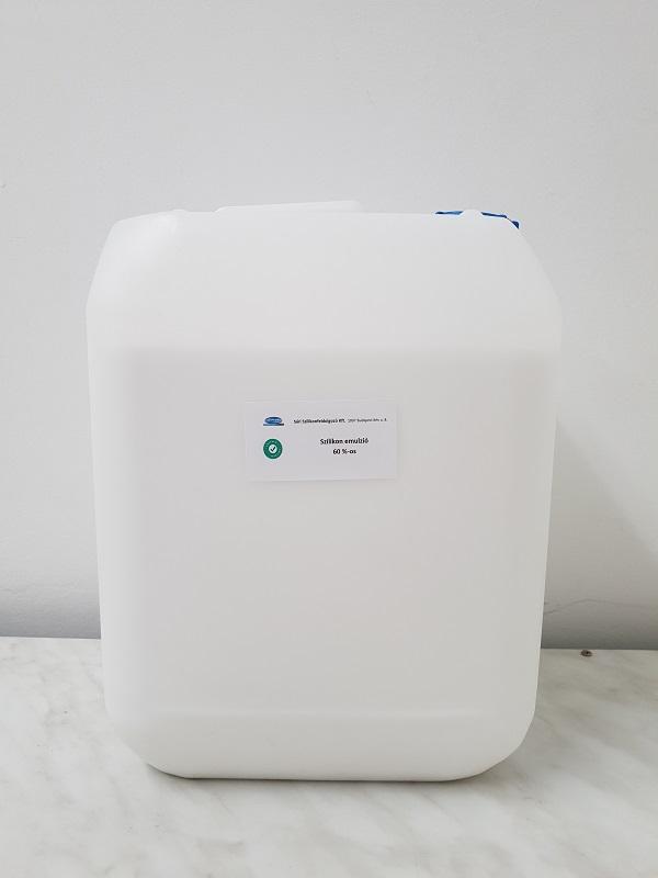Szilikon olaj emulzió 60% 10 literes kiszerelés